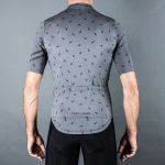 PERCY MASH Swarm Ride Jersey - tarmac grey