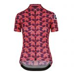Assos FASTLANE Women´s Diamond Crazy SS Jersey - Solitaire Red