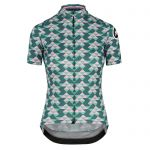 Assos FASTLANE Women´s Diamond Crazy SS Jersey - Brilliant Green