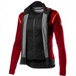 Castelli Alpha RoS 2 Light Jacket - pro red