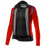 Castelli Alpha RoS 2 Light Jacket - fiery red