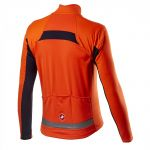 Castelli Mortirolo VI Jacket - orange
