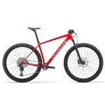 Specialized Epic Comp Hardtail - flo red/metallic white silver