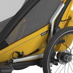 Thule Chariot Sport 2 - Fahrraddeichsel ist im Buggy-oder Joggingbetrieb leicht verstaubar