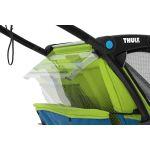 Thule Chariot Sport 1 Kinderanhänger - Chatreuse/Mykonos - Stauraum