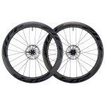 Zipp 404 Firecrest Tubeless Carbon Clincher Disc Laufradsatz - black