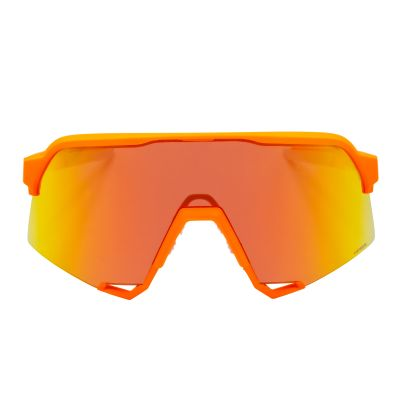 S3 Soft Tact Neon Orange - HiPER Red Multilayer Mirror Lens