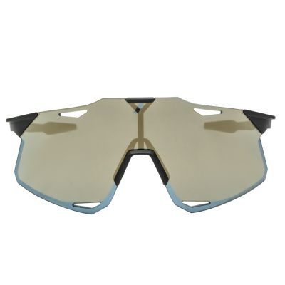Hypercraft Matte Black - Soft Gold Mirror Lens
