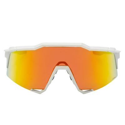Speedcraft Soft Tact Off White - HiPER Red Multilayer Mirror Lens