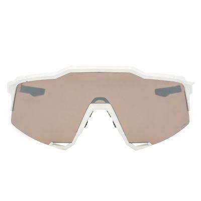Speedcraft Matte White - HiPER Silver Mirror Lens