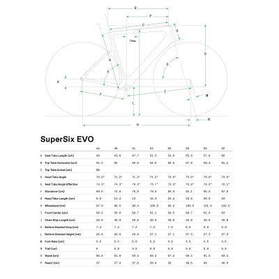SuperSix EVO Carbon Disc Ultegra - 2021