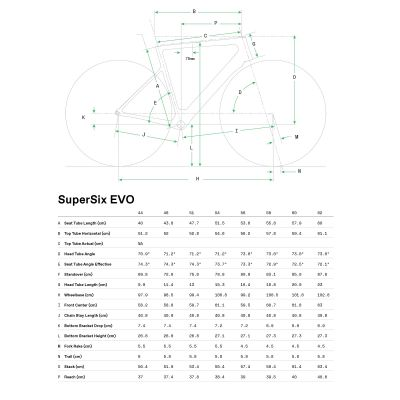 SuperSix EVO Carbon Disc 105 - 2021