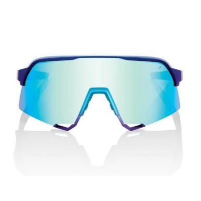 S3 Matte Metallic Into the Fade - Blue Topaz Multilayer Mirror Lens