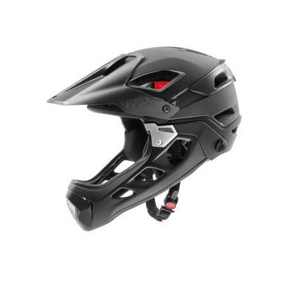 Helm jakkyl hde - black dark silver