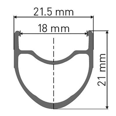 Laufradsatz PR 1400 Dicut Oxic