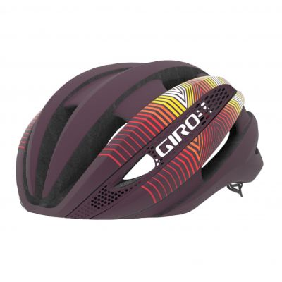 Helm Synthe Mips - matte dusty purple/heatwave