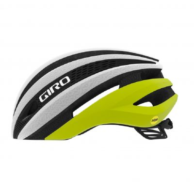 Helm Synthe Mips - matte citron/white