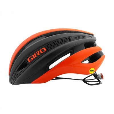 Helm Synthe Mips - bright red/matte black