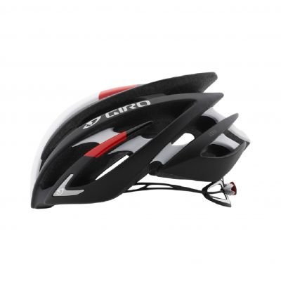 Helm Aeon - matte black/bright red