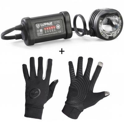 SL A4 Frontbeleuchtung inkl. Assos tiburu glove