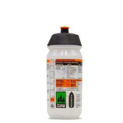 Flasche für Carbonflachenhalter 0,5l