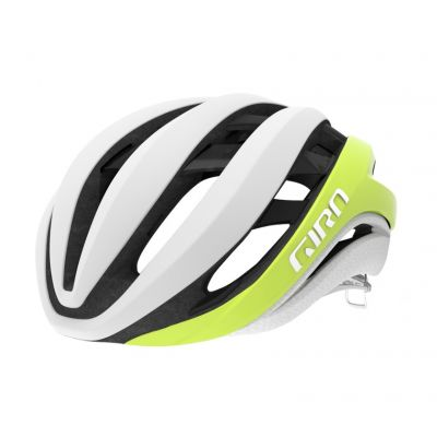 Helm Aether MIPS - matte citron/white