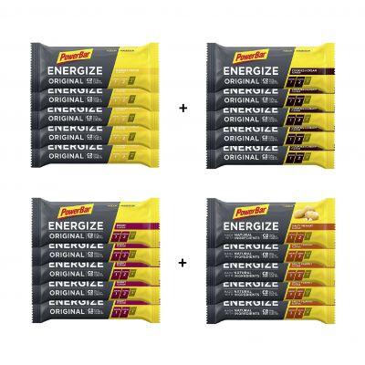 Energize - Riegel Multipack 20x versch. Sorten