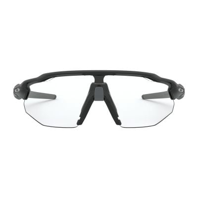 Radar EV Advancer - Matte Black w/Clear Black Iridium Photochromic
