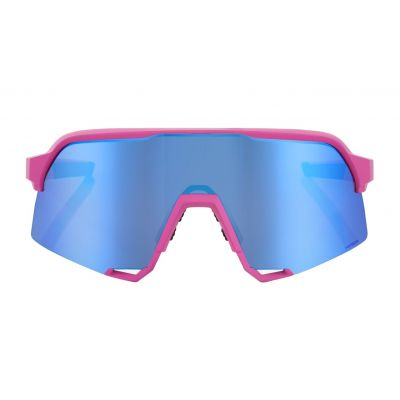 S3 - Matte Pink HiPER Blue Multilayer Mirror Lens