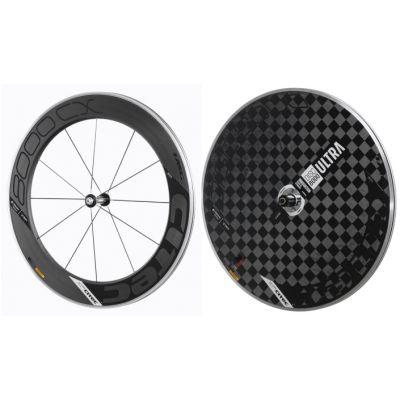 8000 CX Carbon Vorderrad + 8000 Carbon Ultra Disc Scheibenhinterrad