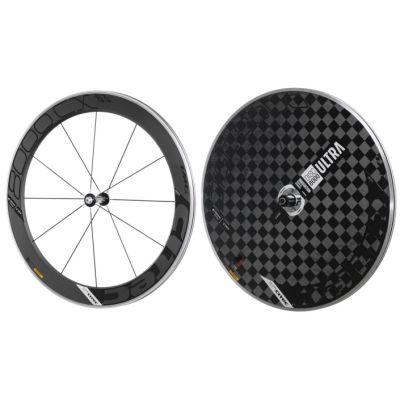 8000 CX / 63 Carbon Vorderrad + 8000 Carbon Ultra Disc Scheibenhinterrad