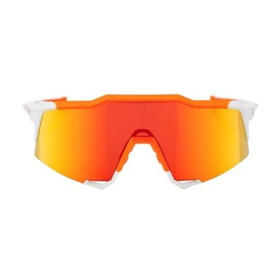 Speedcraft - Soft Tact Day Glo Orange/White HiPER Red Multilayer Mirror Lens