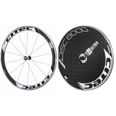 6000 CX Carbon Vorderrad + 8000 Carbon Ultra Disc Hinterrad