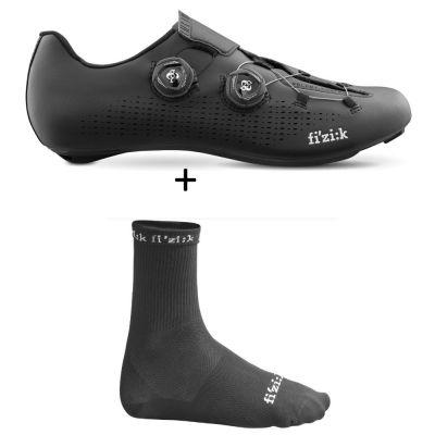 Rennradschuh Infinito R1 inkl. Sommersocken